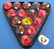 Original Custom Pool Balls For Your Pool Table Not Found Anywhere Else